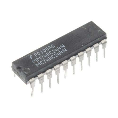 Микросхема 74HC244N