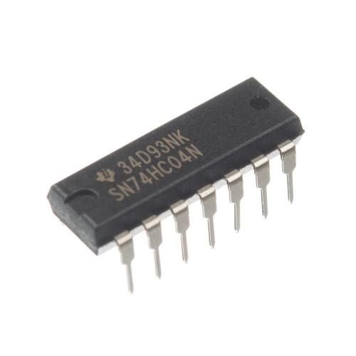 Микросхема 74HC04N