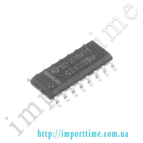 Микросхема 4022