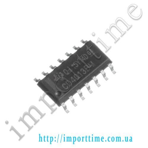 Микросхема 4013