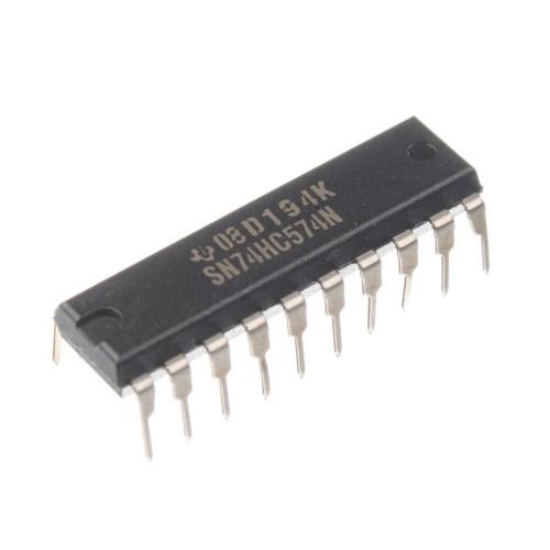 Микросхема 74HC574N