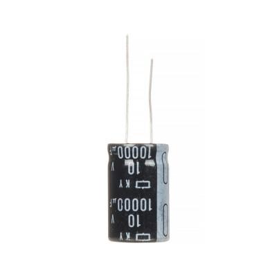 Конденсатор электролитический 10000мкФx 10В, 105°C, 16X25