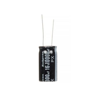 Конденсатор электролитический 10000мкФx 16В, 105°C, 16X30