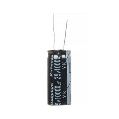 Конденсатор электролитический 10000мкФx 25В, 105°C, 18X35