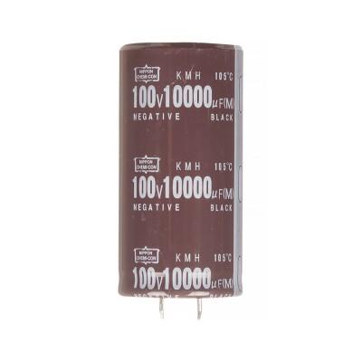 Конденсатор электролитический 10000мкФx 100В, 105°C, 35X70