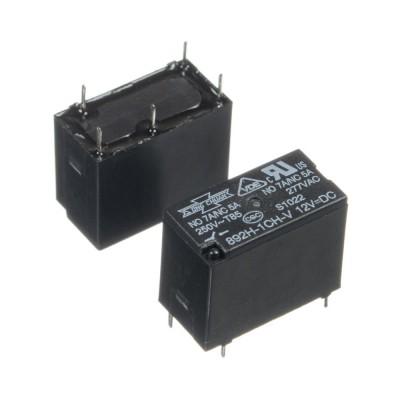 Реле 12V  5A 5pin  JZC-33F(892H-1CH-V)