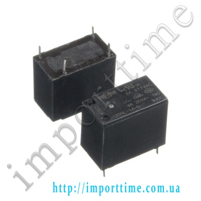 Реле  9V 8A 4pin (1 open) 835NL-1A-B-C