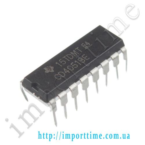 Микросхема 4051