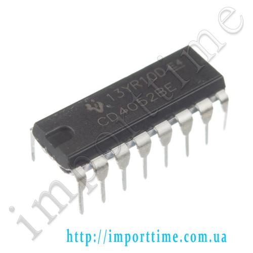 Микросхема 4052