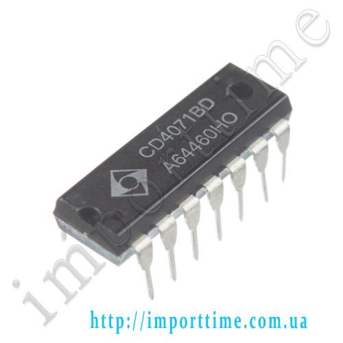 Микросхема 4071